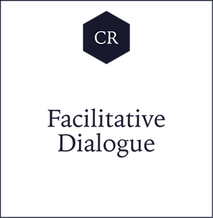 CR Facilitative Dialogue with Adrian N.