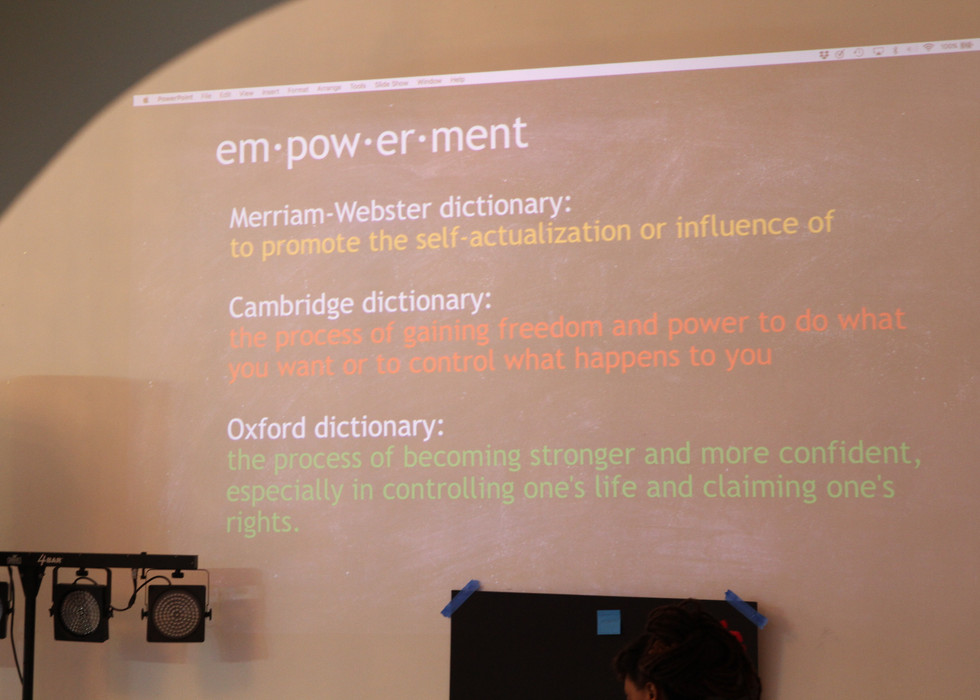 Empowerment defined