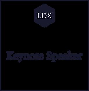 LDX Keynote Speaker with Adrian N. Carte