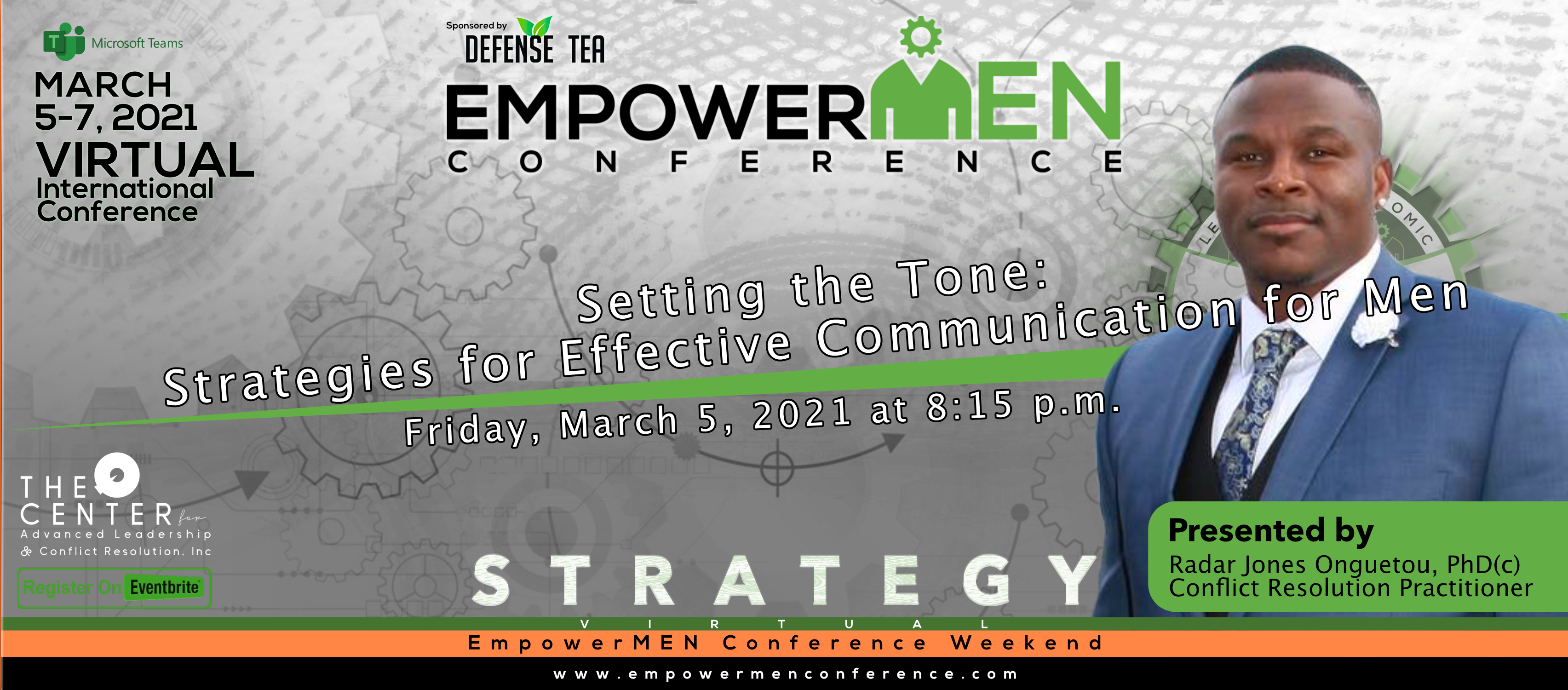 EmpowerMEN Conference 2021 Presenter Rad