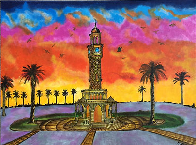 Raj_Herings Izmir clock tower_20x24.jpg