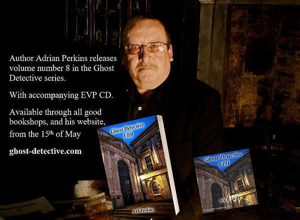 Adrian Perkins releases volume 8 in the Ghost Detective series