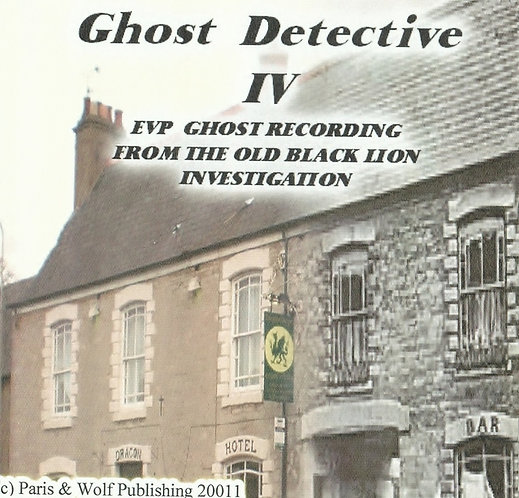 Ghost Detective 4 EVP CD / Free with book 4