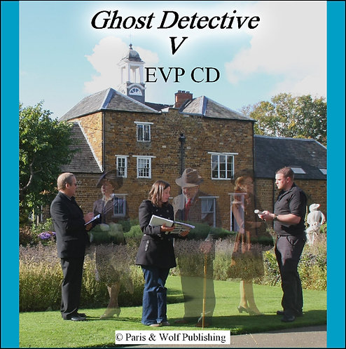 Ghost Detective 5 EVP CD / Free with book 5