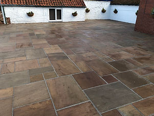 INDIAN NATURAL STONE PAVING IN RETFORD NOTTINGHAMSHIRE