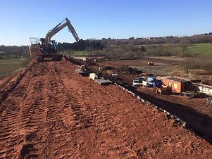 GROUNDWORKS EARTH MOVING PROJECT LEISTERSHIRE