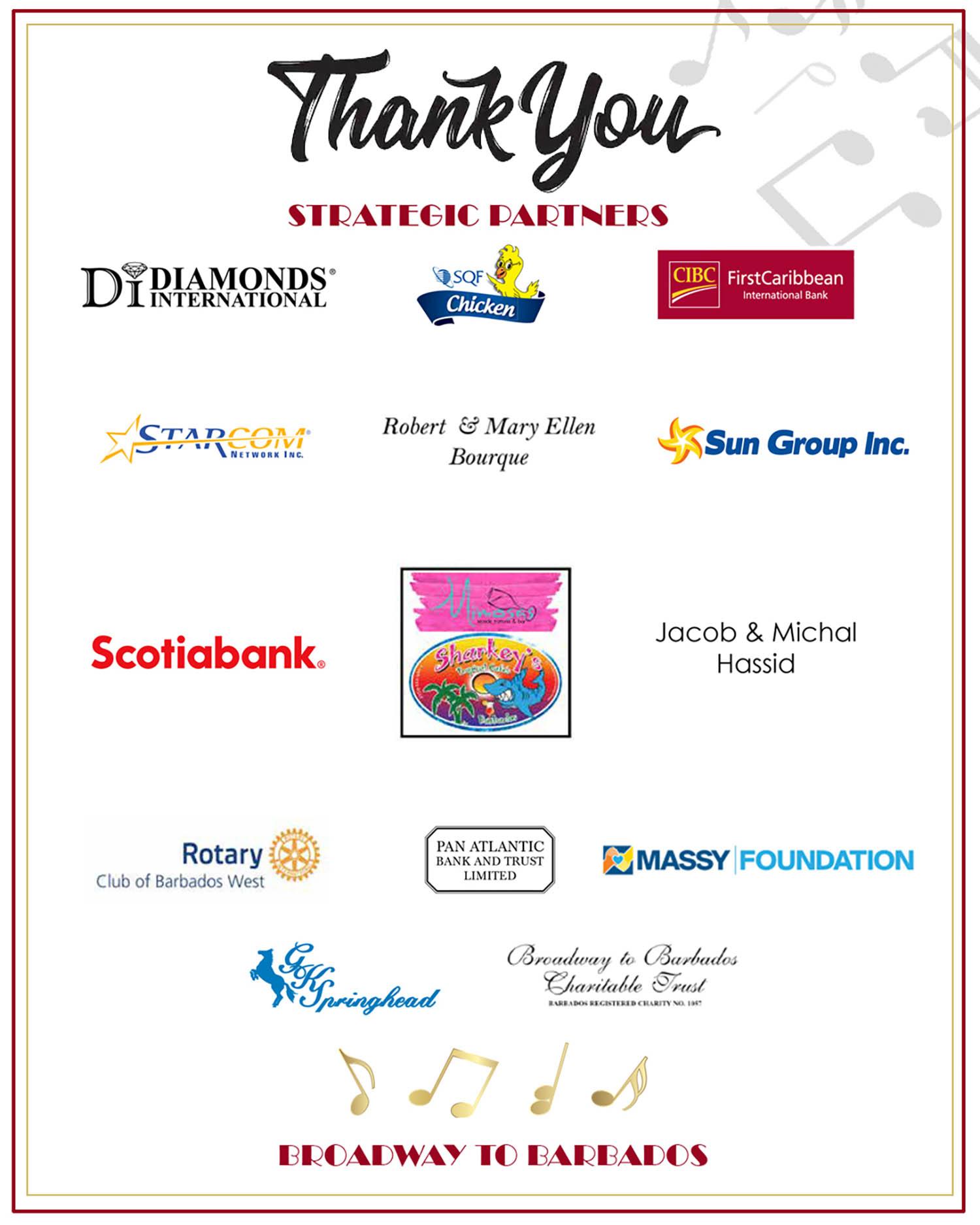 thank you btb sponsors