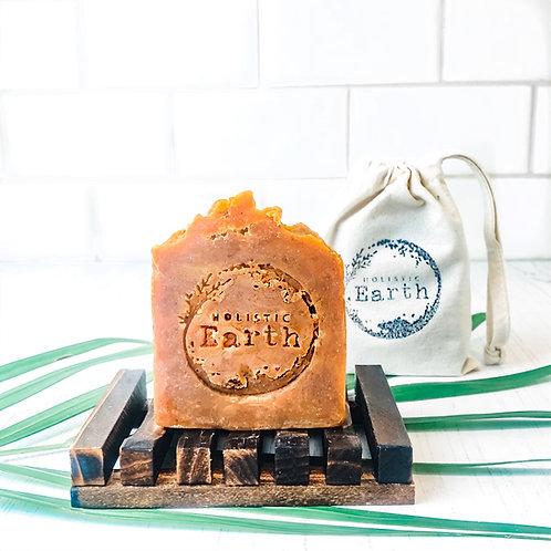 Orange & Walnut Shampoo & Body Soap Bar