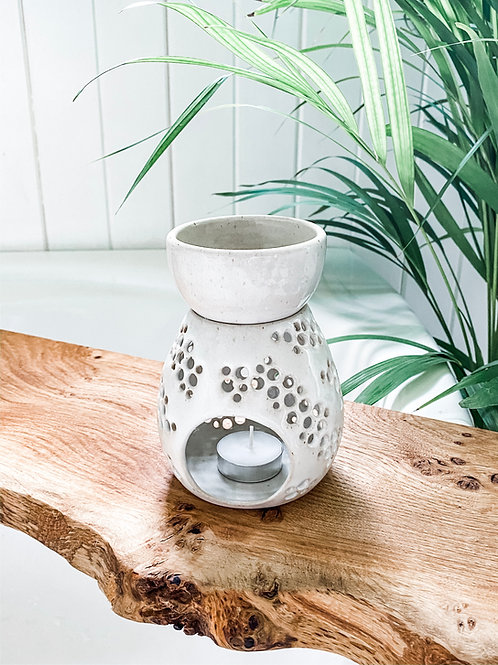 Stoneware Wax Melter / Oil Burner