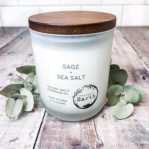 Sage & Sea Salt Scented Candles