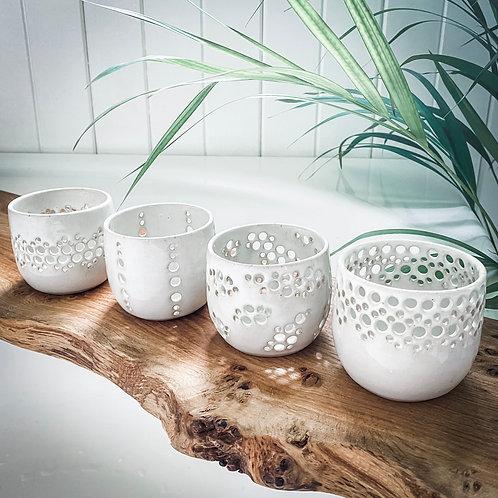 Handmade Ceramic Candle Holders