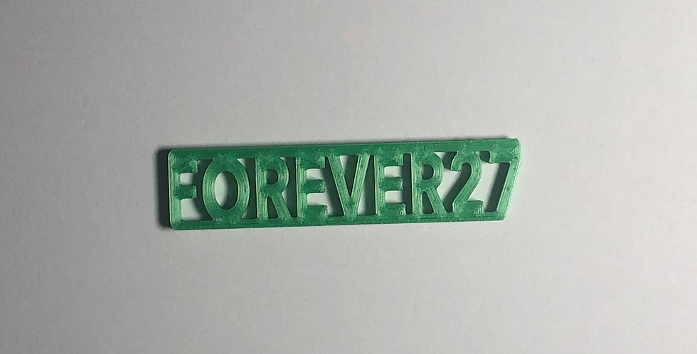 Forever27/37 Keychains