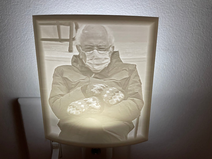 Bundled Bernie Night Light