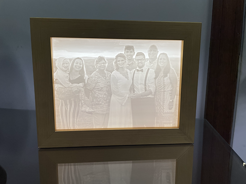 Custom Lighted Picture