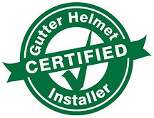 Augusta's only Gutter Helmet Certified Installer