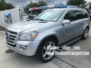 Mercedes GL Shipped From Florida to Pennsylvania