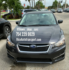 Subaru Shipped From Miami to Boston