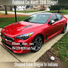 Kia Stinger Shipped Oregon to Indiana