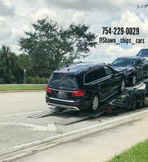 Mercedes GL450 Shipped from Florida to Atlanta