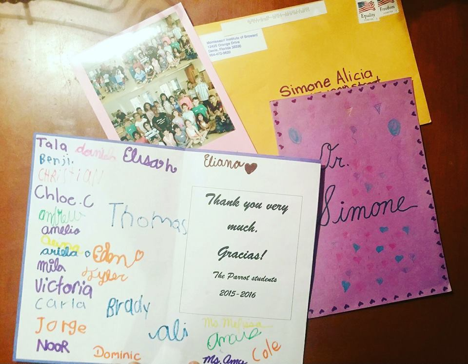 Letters of Gratitude