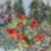 Garden Poppies 30x30inches.jpg