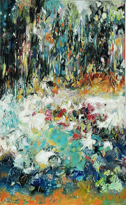 Walk in Snow 20x32inches.JPG