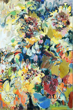 Autumn Sunflowers 20x30inches.JPG