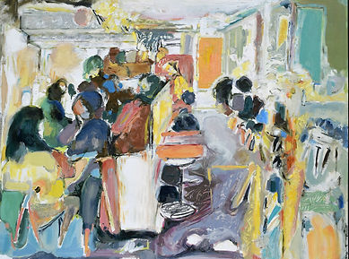 Cafe Life 48x36inches.JPG