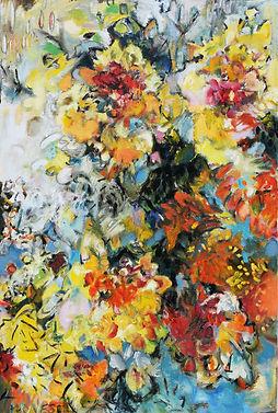 Autumn Sunflowers 20x30inches.JPG
