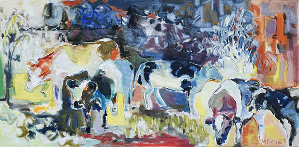 Cow Field 20x40inches.JPG