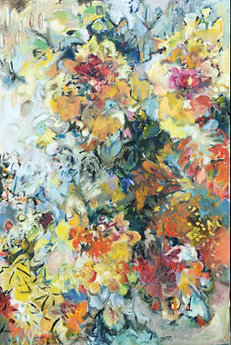 Autumn Sunflowers 20x30inches (2).JPG
