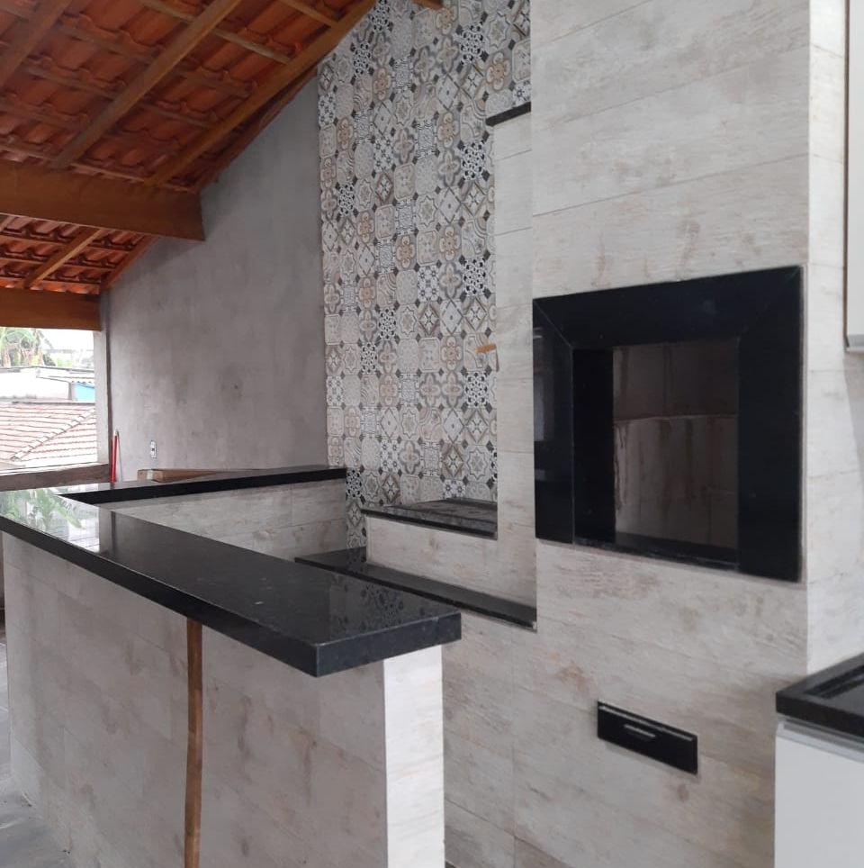 Requadro e Peitoril Granito Preto São Gabriel