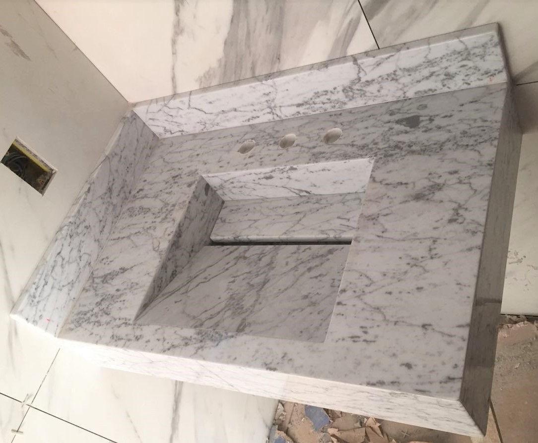 Lavatório Mármore Carrara