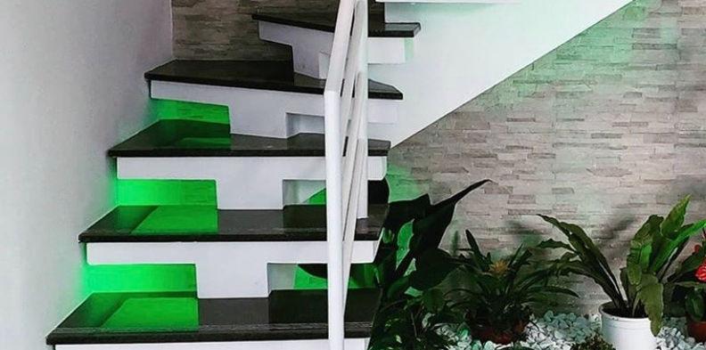 Escada Granito Verde Ubatuba