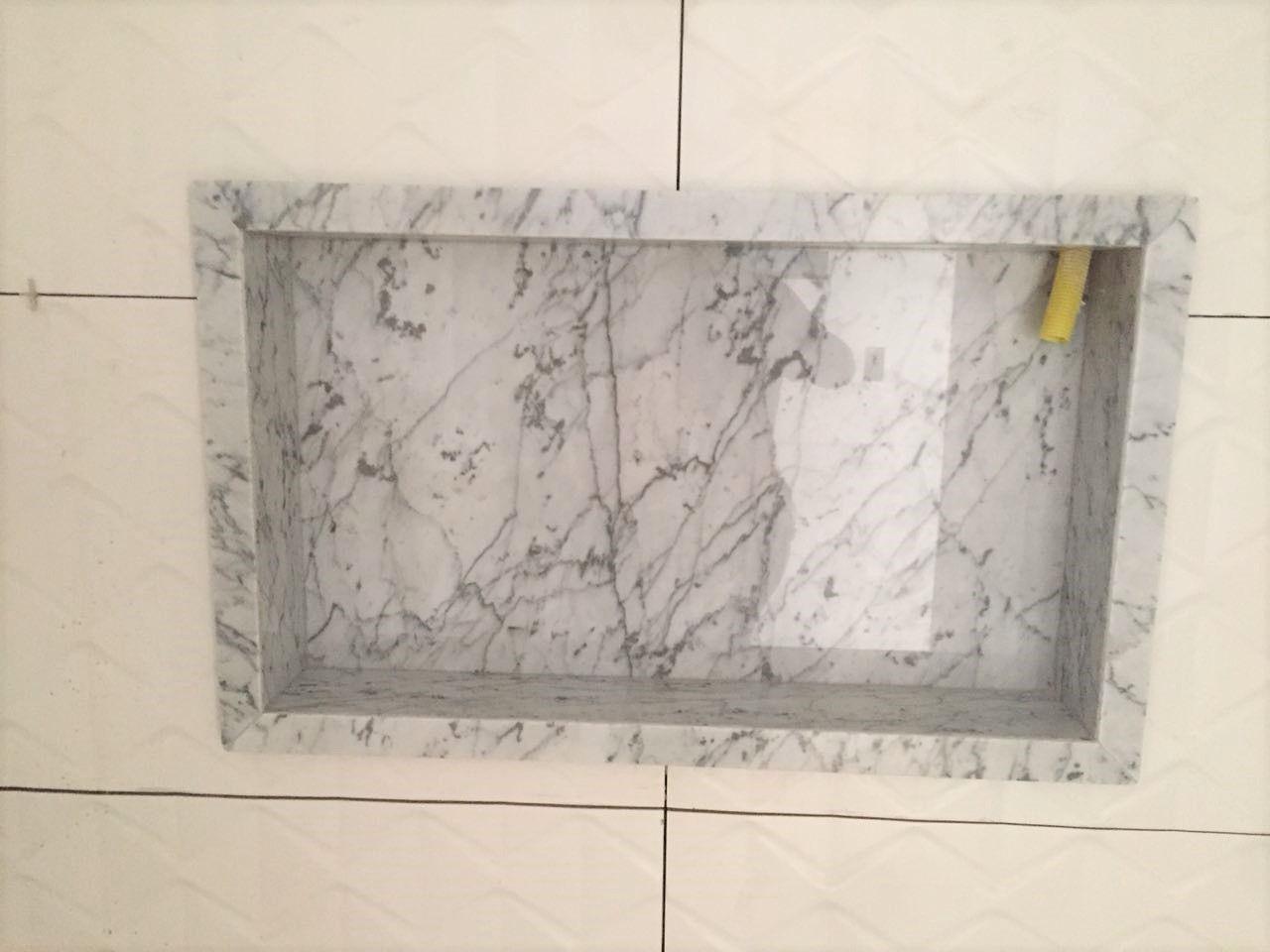 Nicho Mármore Carrara Gioia