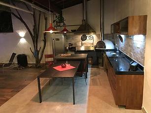 0121 Área Gourmet - Pia Granito Preto Sã