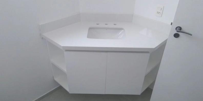 Lavatório Branco Prime
