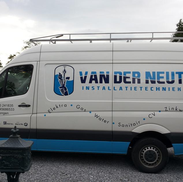 Arie van der Neut bus belettering 201306