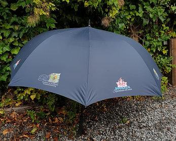 Luxe paraplu gepersonaliseerd