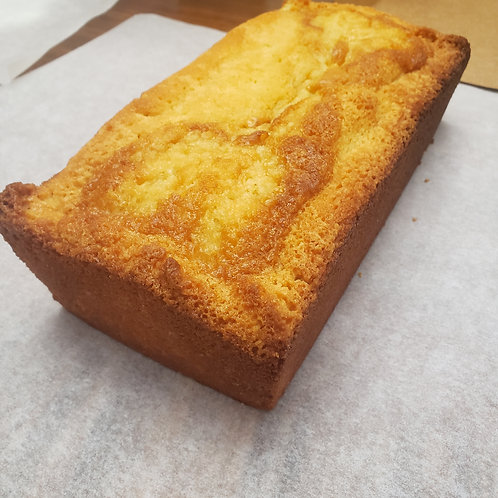 Island Essence Pound Cake