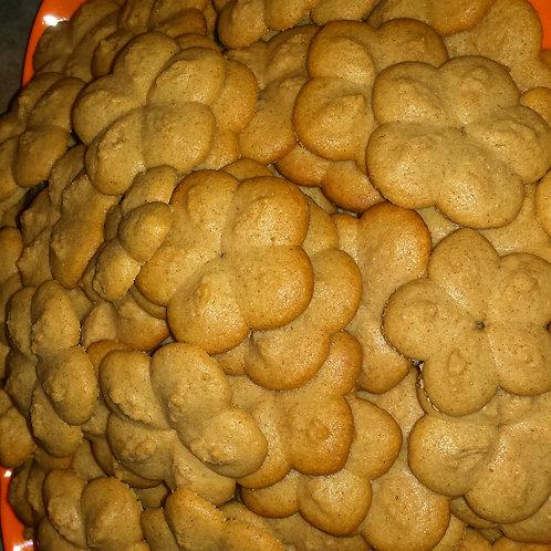 Tart Dough Butter Cookies (50 per order)