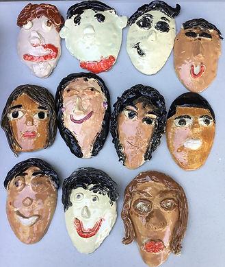 Granger ceramics more self portraits.jpg