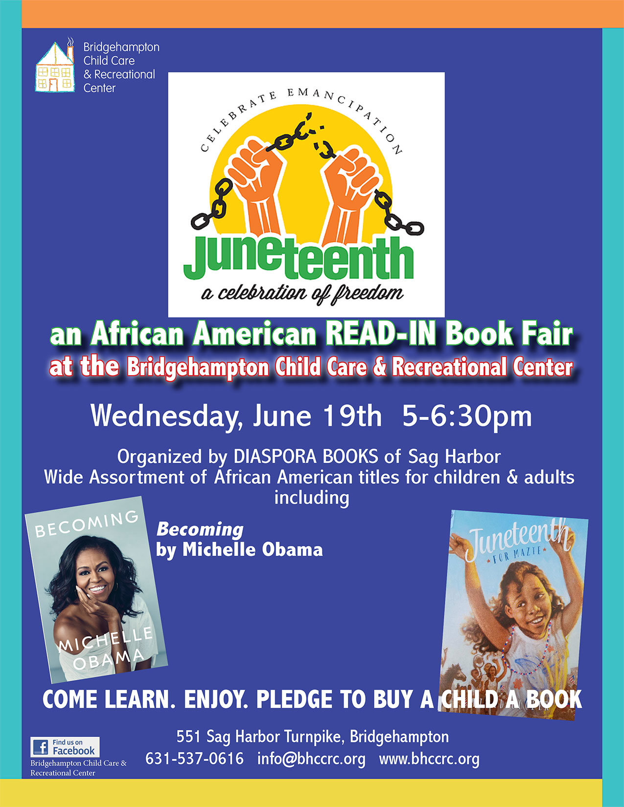 2019 Juneteenth Read In