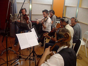 Strings Recording