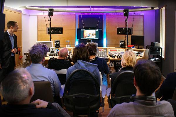 3D Audio Workshop Studio Xpoint1