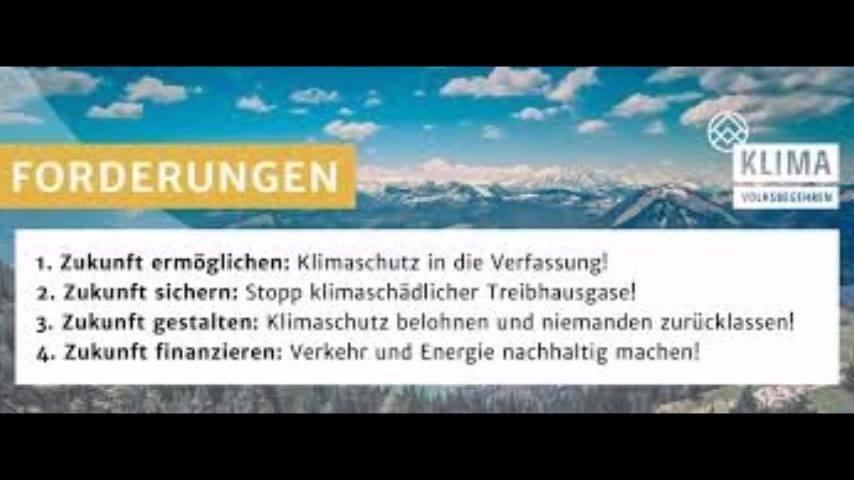 GUTPieDrei unterzeichnet das Klimavolksbegehren