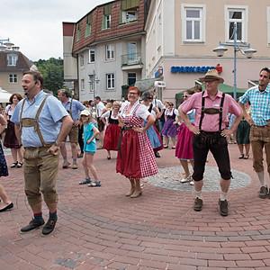 Flashmob Pfingstkirtag Markt Piesting