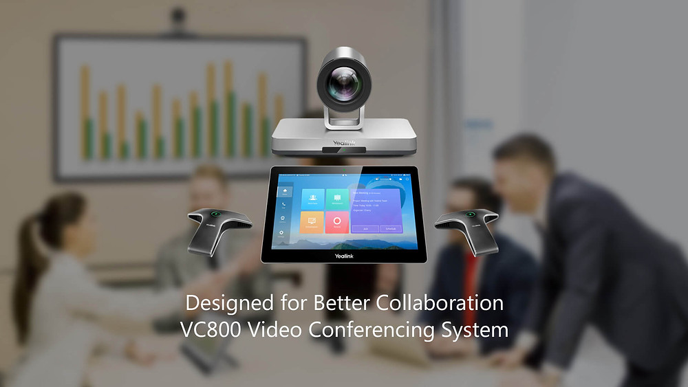 Yealink VC800 Video Conferencing System: Designed for Better Collaboration