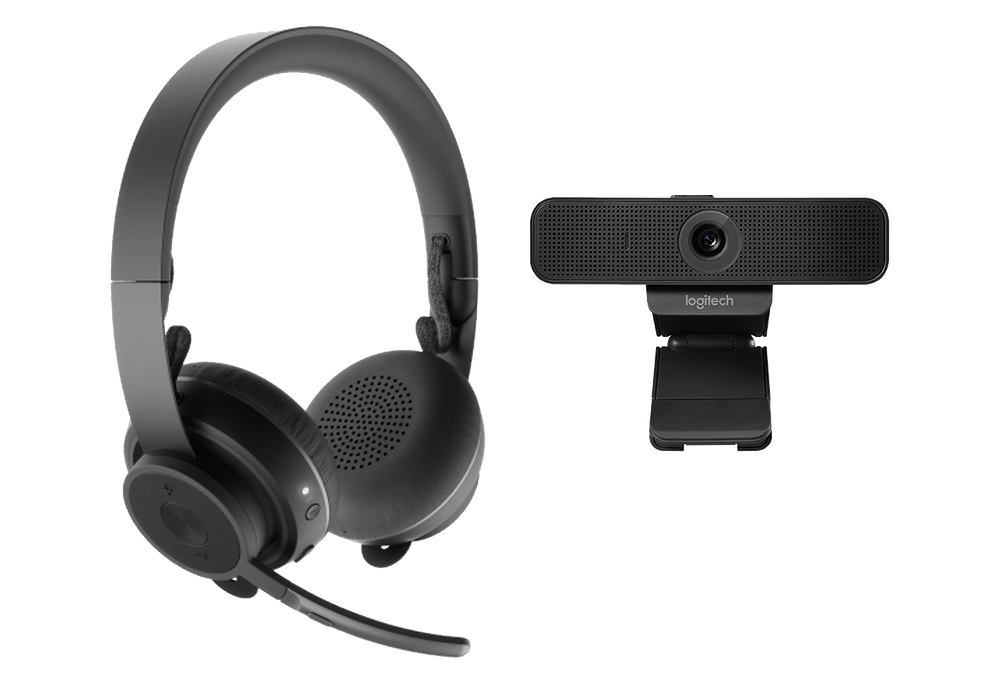 Personal Video Collaboration Kit: Logitech C925e + Zone Wireless