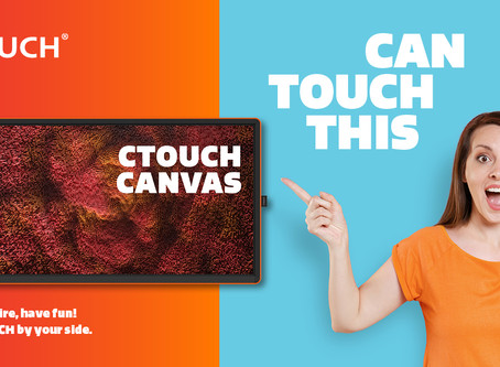The New CTOUCH Canvas is Available Now!